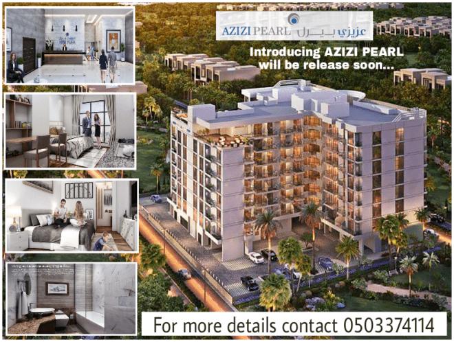 Azizi Pearl Furnished Luxury Apartment in Dubai Al Furjan will be release soon
