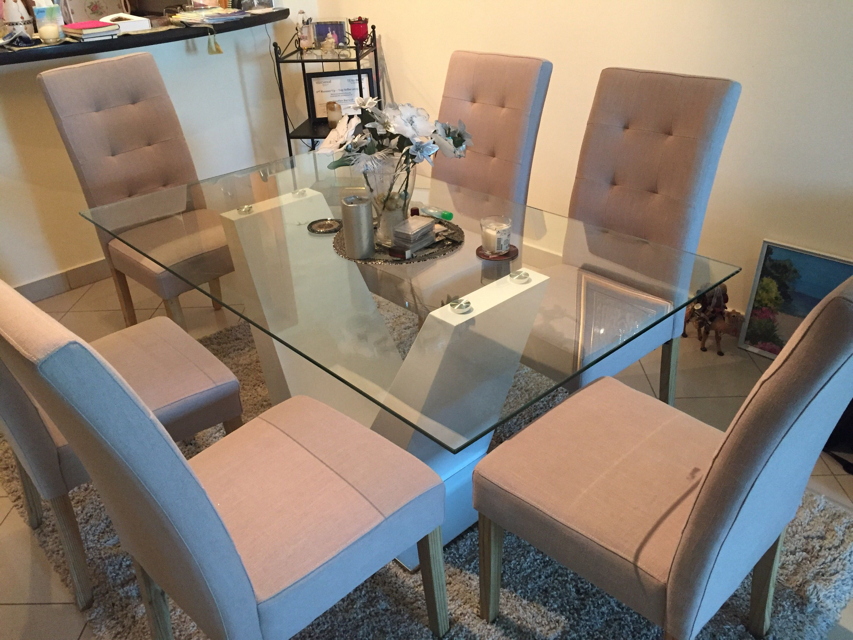 Moving Out Sale Brand New Table And 6 Chairs Excellent Quality Abu Dhabi Uae Storat