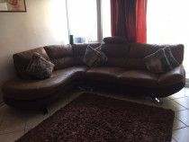 Brown Sofa from Home Center in Good Condition for Sale in Dubai
