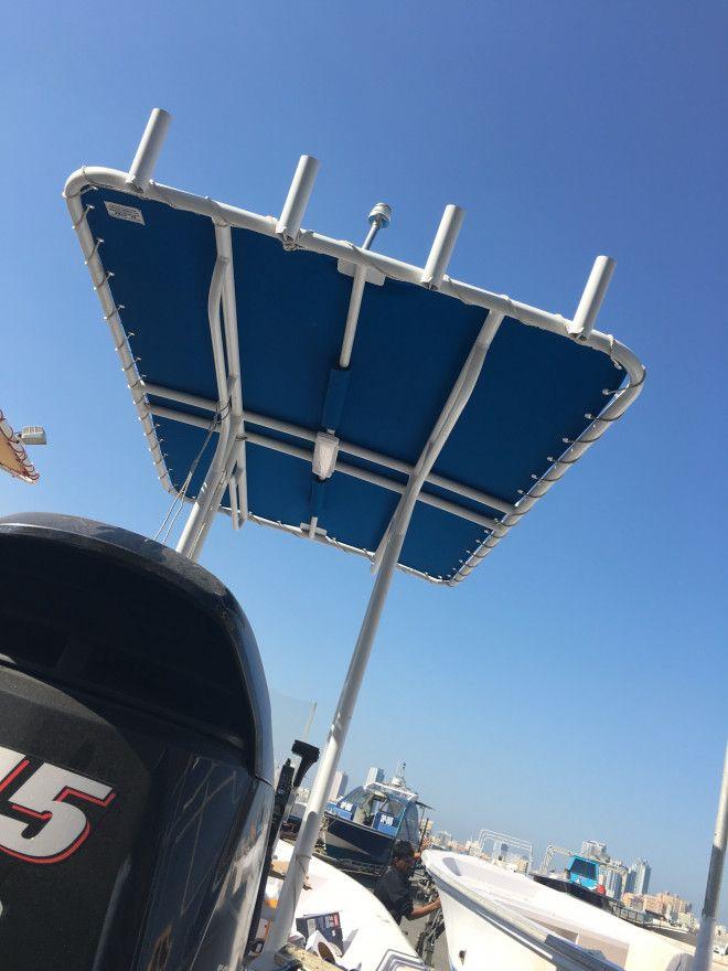 21 feet fiber fishing boat + galvanized boat trailer + aluminium canopy