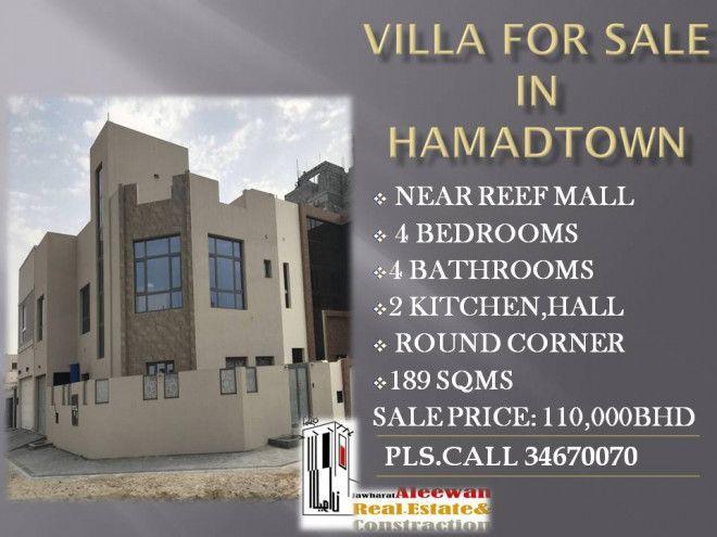 New villa for sale in Hamadtown (al makiyah)