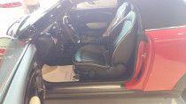 Convertible Mini Cooper S  - Red HOT Black Stripes
