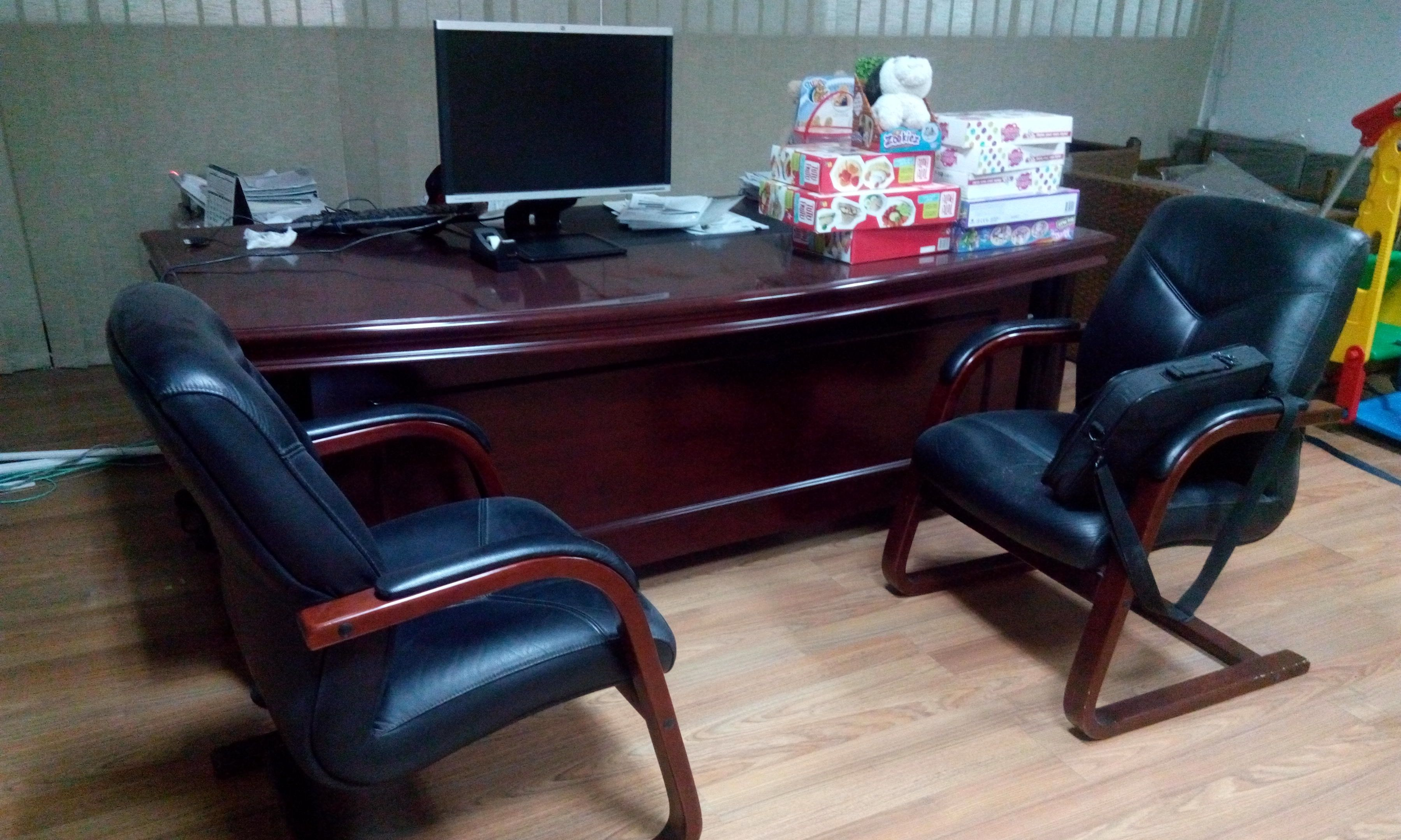 Office furniture for sale as the office is shifting for Office furniture for sale