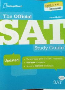 Collegeboard Official SAT Study Guide for Sale