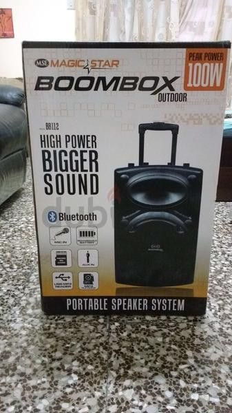 Brand new Trolley speaker,Magic Star BB112,Negotiable,seal pack  -