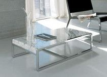 Coffee Tables of Marble, Granite, Stones