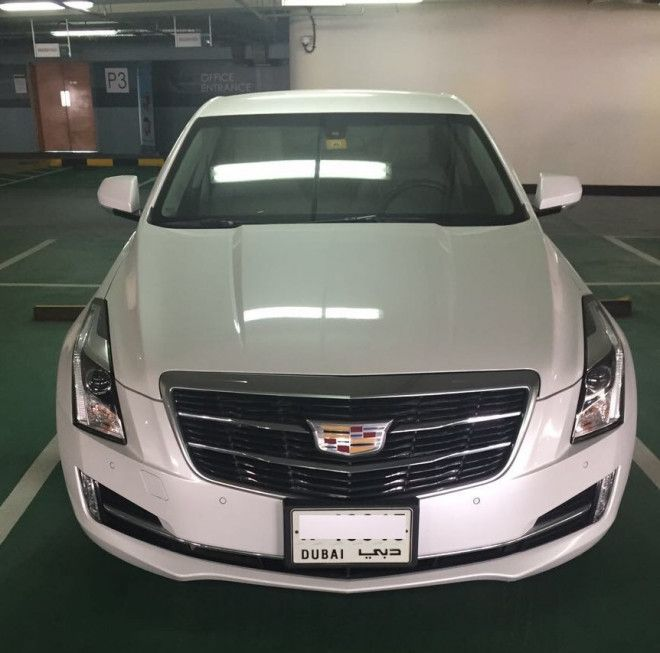 Cadillac ATS 2015 with very Low Mileage (1st owner)