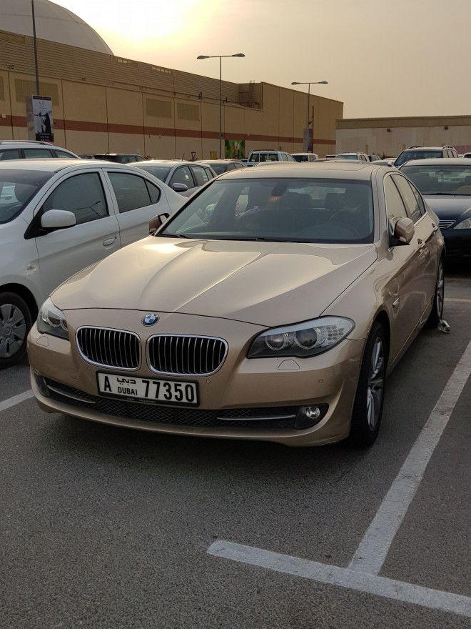 BMW I M Badge Excellent Condtion Dubai UAE Storat - 2012 bmw 530i