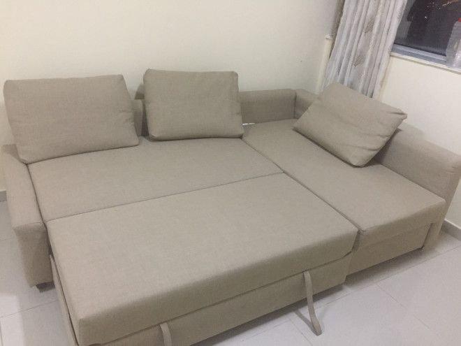 Ikea sofa bed for sale in sharjah l shape with storage for Sofa beds for sale ikea