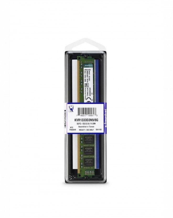 kingston 8 GB Memory Card For Computers - Memory Sticks - KVR1333D3N9/8G