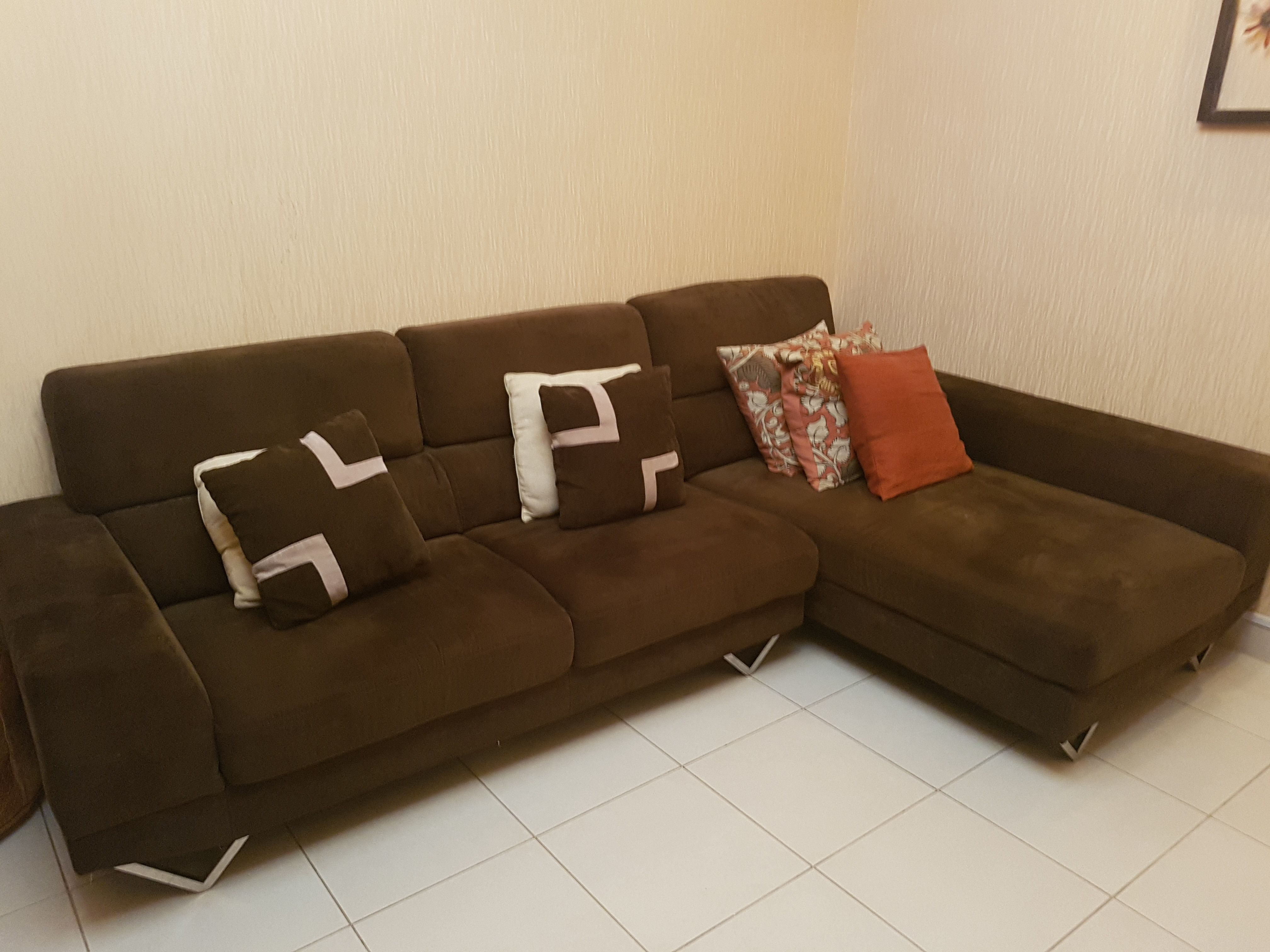 L Shape Sofa From Home Center Very Comfortable Dubai Uae Storat