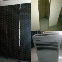 Aircooler partition divider and mirror for sale in sharjah