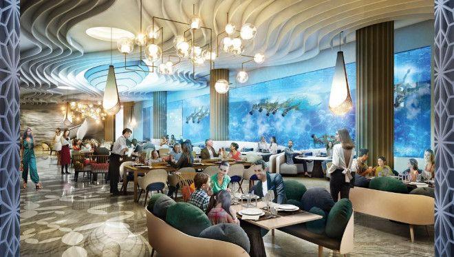 Amazing 1 Bedroom  Suit in Island at Portofino Hotel- Heart of Europe Dubai