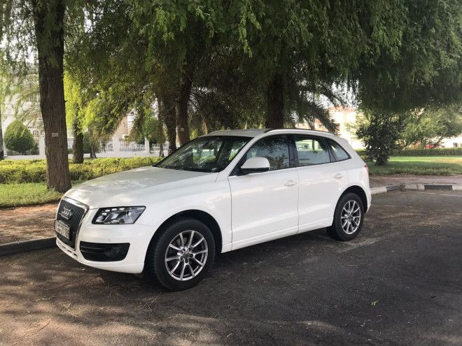 Audi Q5 2011 For Sale In Dubai - Excellent Condition - White Color