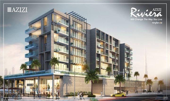 Azizi Riviera Luxury Apartments At Dubai Meydan One Price