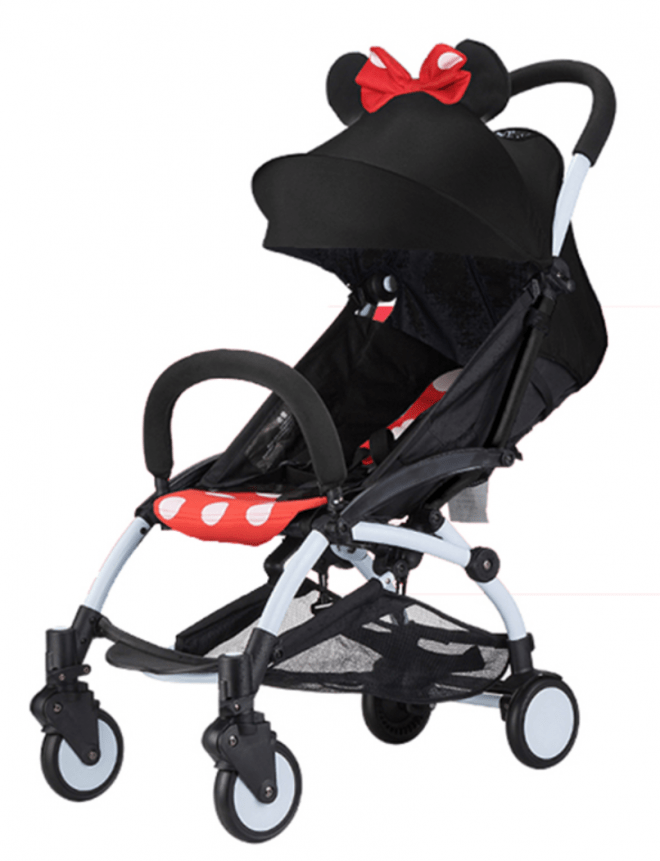 BabyTime Yoyo Stroller (Babyzen) Mini Stroller - Minnie Mouse Limited Edition