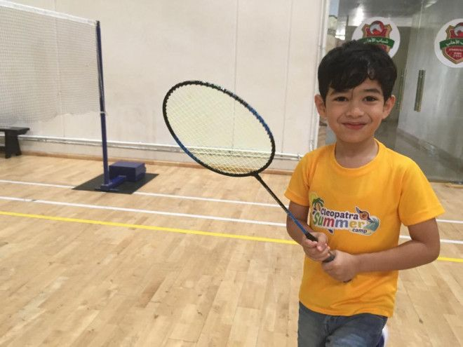 Badminton Classes for kids in Abu Dhabi in Mohammed Bin Zayed City|  Cleopatra Academy