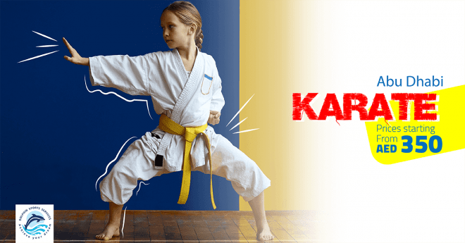 Special Offers on Karate Classes for Kids in Al Mushrif |  Dolphin Sports Academy