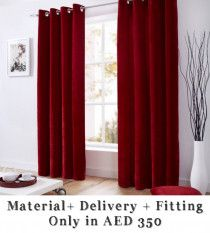 Blackout Curtains & Blinds, Wallpaper and Carpet installation services in Dubai