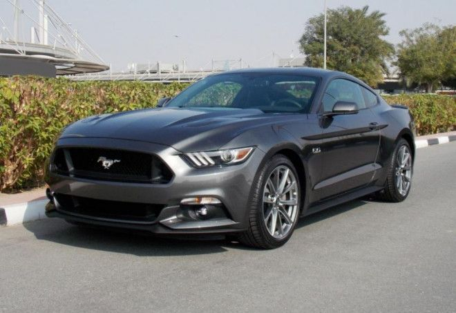 Brand New 2017 Grey Ford Mustang Gt Premium Plus