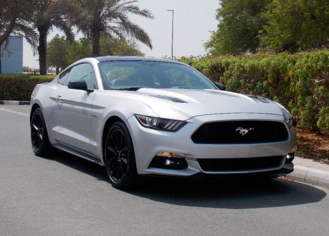 Brand New 2017 Silver Ford Mustang Gt Premium Plus
