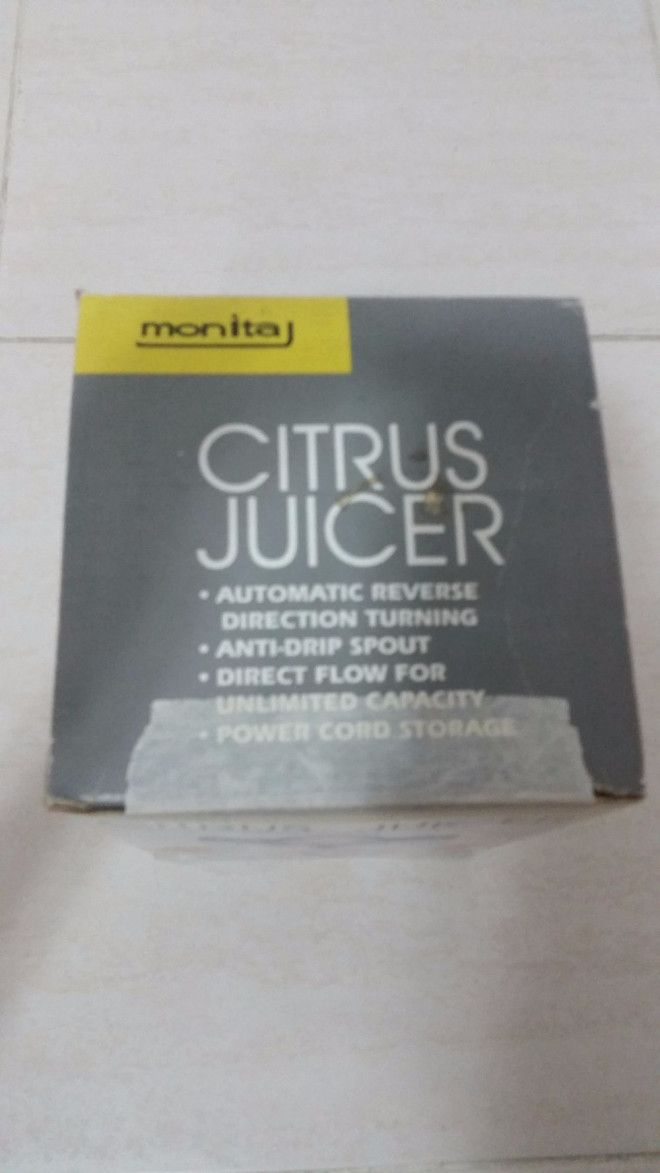 Brand New Citrus Juicer For Sale In Sharjah - Monita Company