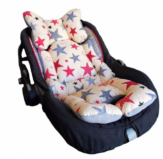 breathable soft stroller car seat liner pad dubai uae storat. Black Bedroom Furniture Sets. Home Design Ideas