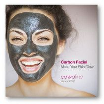Discounts on Carbon Peel Treatment with Corpofino | Abu Dhabi
