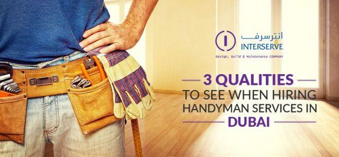 Carpentry Services in Dubai | interserve