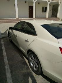 Chevrolet Malibu LTZ 2013 For Sale In Dubai - Pearl White 140,000 km