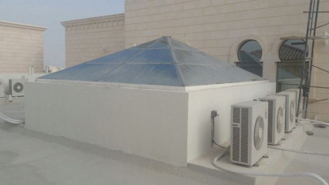 Custom Design Glass roofs in Abu Dhabi - Pure Italian
