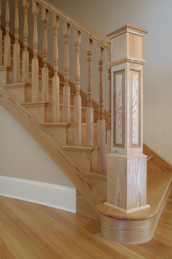 Custom Design wooden Handrails in Abu Dhabi - Pure Italian