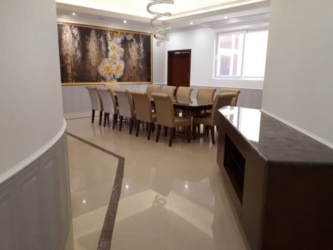 Custom Dinning Room & Wooden Chairs in Abu Dhabi - Pure italian Carpentry Works