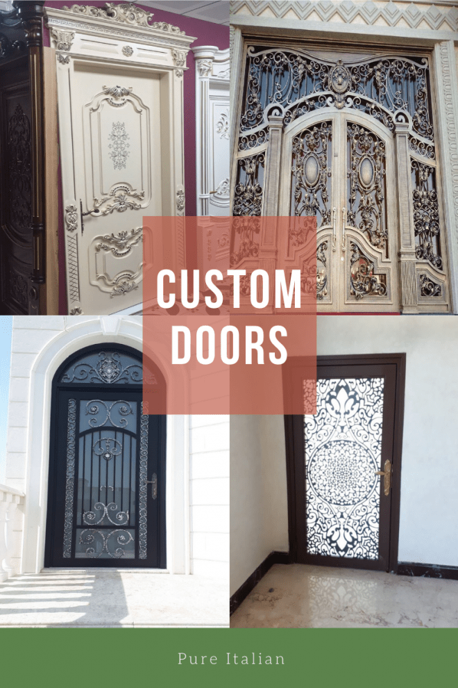 Best Offers on Custom made Doors  by Pure Italian | Abu Dhabi