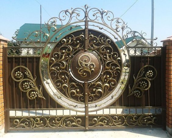 Steel Gates in Abu Dhabi and Custom Made Wrought Doors at Best Price