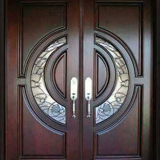Custom-Made Wooden Doors In Abu Dhabi - Parquet Style