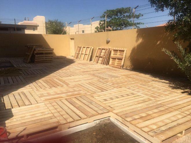 Dubai wooden pallets for flooring