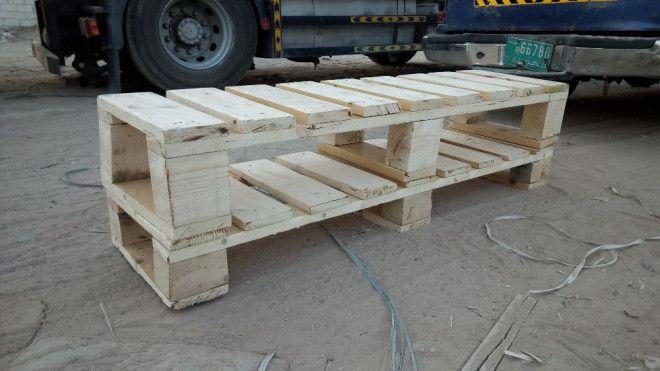 Dubai wooden pallets tv benches
