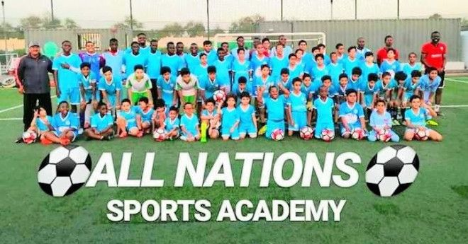 Eight (8) Football Classes for Kids in Dubai | All Nations Sports Academy