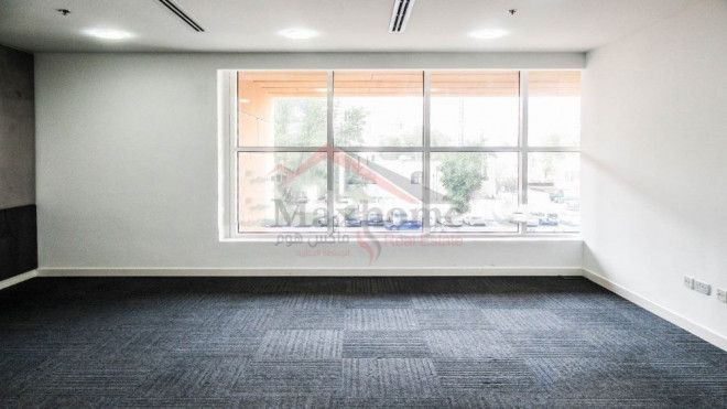 Air conditioning with a fresh environment office to rent.