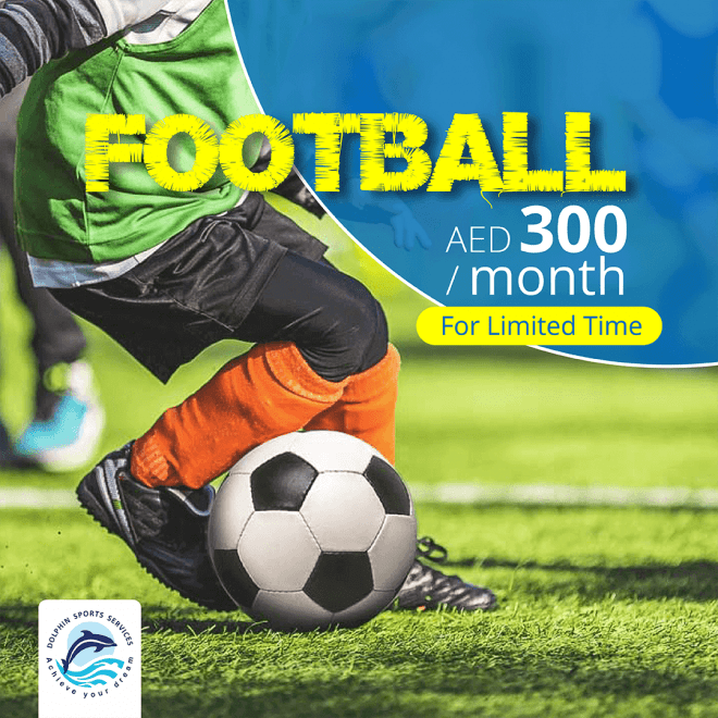 Discount on Football Classes for Kids in Al Mushrif Abu Dhabi | Dolphin Sports Academy