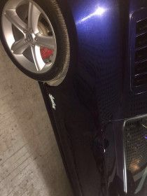 Ford Mustang 2010 Model For Sale In Dubai - Blue Color - West Coast Customs