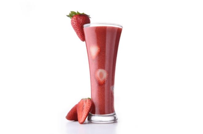 Fresh Strawberry Juice
