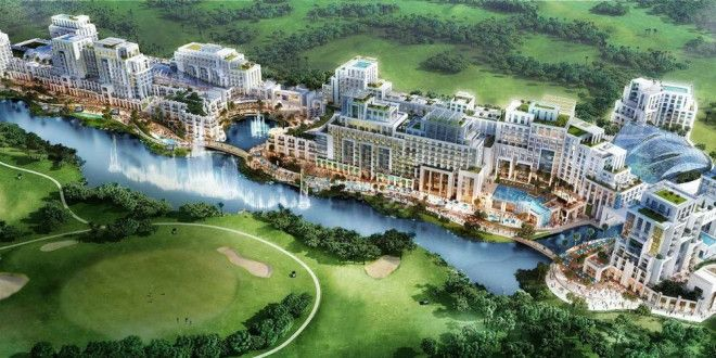 Luxury Villa 4 rooms Best Compound in Dubai Land in installments over 3 years