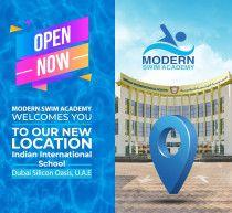 مفتوح الآن: دروس سباحة للأطفال والكبار في واحة السيليكون | أكاديمية مودرن للسباحة