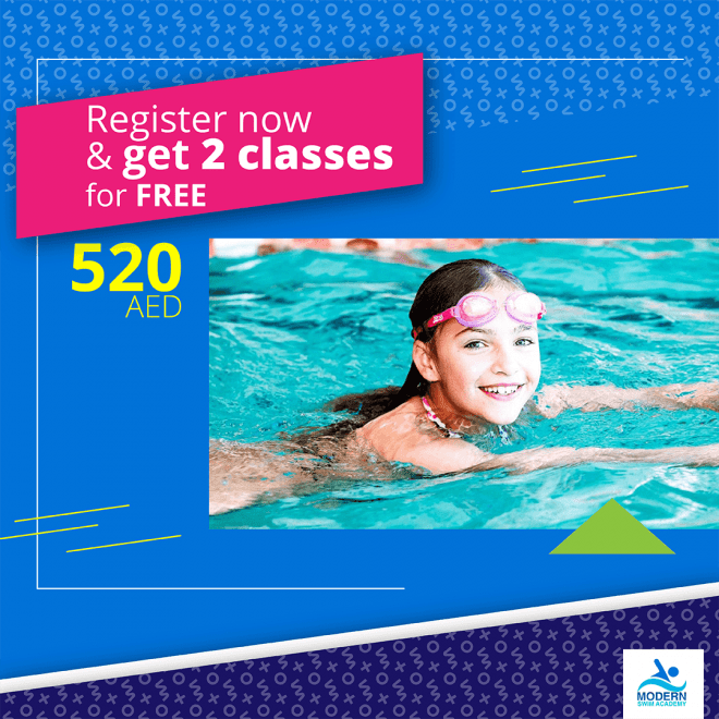 Swimming Classes for Kids & Adults in Academic City | Modern Swim Academy