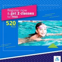 دروس السباحة للأطفال والكبار في المدينة الأكاديمية | أكاديمية مودرن للسباحة