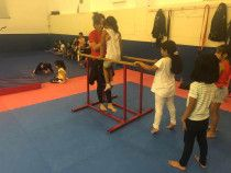 Gymnastics Lessons for Kids in Al Jazira Club | Cleopatra Academy