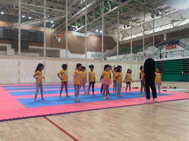 Gymnastics Lessons for Kids in Al Qouz | Cleopatra Academy