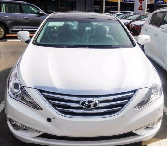 Hyundai Sonata for sale in dubai ras alkhour model 2014